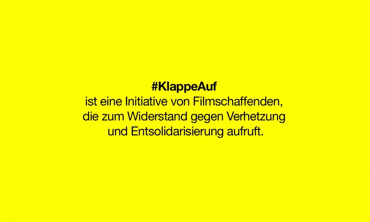 #KlappeAuf Trailer